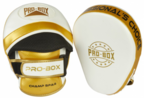 View the PRO BOX *NEW* CHAMP SPAR FOCUS PADS WHITE-GOLD online at Fight Outlet