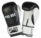 Pro Box *NEW* CLUB SPAR BOXING GLOVES BLACK-WHITE
