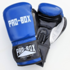 View the Pro Box *NEW* CLUB SPAR BOXING GLOVES BLUE online at Fight Outlet
