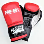 Pro Box *NEW* CLUB SPAR BOXING GLOVES RED