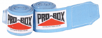 View the Pro Box Senior Stretch Handwraps Light Blue 2.5m online at Fight Outlet