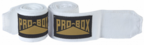 View the Pro Box Senior Stretch Handwraps White 2.5m, 3.5m, 4.5m online at Fight Outlet