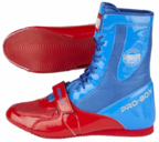 View the Pro Box Speed-Lite Boxing Boots Blue/Red online at Fight Outlet