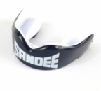 View the Sandee Adult Mouthguard Black/White online at Fight Outlet
