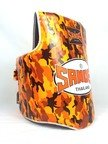 View the Sandee Camo Kids Orange & White Synthetic Leather Authentic Body Shield online at Fight Outlet