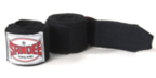 View the Sandee Hand Wraps Black Stretch Cotton 5m  online at Fight Outlet