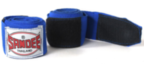 View the Sandee Hand Wraps Blue Stretch Cotton 5m  online at Fight Outlet