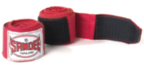 View the Sandee Hand Wraps Red Stretch Cotton 5m  online at Fight Outlet