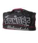 View the Sandee Large Heavy-Duty Black & Red Holdall / Gym Bag online at Fight Outlet