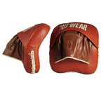 View the Tuf Wear Classic Brown Cuban Pads online at Fight Outlet