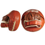 View the Tuf Wear Classic Brown Leather Air Pads online at Fight Outlet