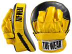 View the Tuf Wear Curved Focus Hook and Jab Pad online at Fight Outlet