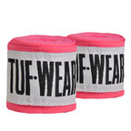 View the Tuf Wear Handwraps Pink 2.5m online at Fight Outlet