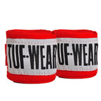 View the Tuf Wear Handwraps Red 3.5m online at Fight Outlet