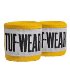 View the Tuf Wear Handwraps Yellow 4.5m online at Fight Outlet