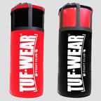View the Tuf Wear Jumbo Punchbag 4ft, 20 Inch Diameter 40kg Black/Red online at Fight Outlet
