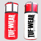 View the Tuf Wear Jumbo Punchbag 4ft, 20 Inch Diameter 40kg Red/White online at Fight Outlet