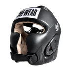 View the Tuf Wear Leather Headguard with Cheek Protection online at Fight Outlet