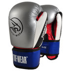 View the Tuf Wear Tornado Kids Safety Spar Boxing Glove Silver online at Fight Outlet