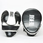 View the Tuf Wear Victor Curved Hook and Jab Pad, Black/White online at Fight Outlet