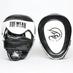 View the Tuf Wear Victor Gel Curved Hook and Jab Pad, Black/White online at Fight Outlet