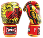View the Twins FBGVL3-52 Red-Gold Nagas Boxing Gloves online at Fight Outlet