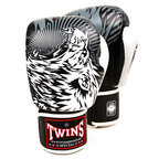 View the Twins FBGVL3-50 White Wolf Boxing Gloves online at Fight Outlet