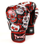 Twins FBGVL3-53 Red Skull Boxing Gloves