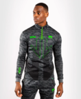 View the VENUM ARROW LOMA SIGNATURE COLLECTION COLLARED ZIP SWEATSHIRT - DARK CAMO online at Fight Outlet