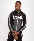 View the VENUM ARROW TRACK JACKET LOMA EDITION - BLACK/WHITE online at Fight Outlet