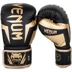 View the VENUM ELITE BOXING GLOVES - BLACK/GOLD online at Fight Outlet