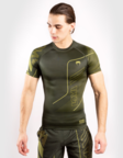 View the VENUM LOMA COMMANDO SHORT SLEEVE RASHGUARD - KHAKI online at Fight Outlet