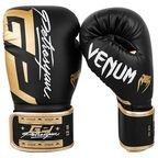 View the VENUM PETROSYAN BOXING GLOVES - BLACK/GOLD online at Fight Outlet