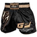 View the VENUM PETROSYAN MUAY THAÏ SHORT- BLACK/GOLD online at Fight Outlet