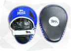 View the Lonsdale L60 Pro Curved Focus Pads Blue/Black/White online at Fight Outlet