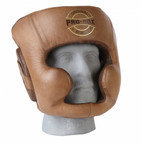 View the PRO-BOX 'ORIGINAL COLLECTION' LEATHER SPARRING HEADGUARD online at Fight Outlet