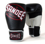 View the Sandee Cool-Tec Leather Gloves Black/White/Red  online at Fight Outlet