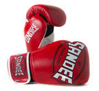Sandee Cool-Tec Velcro 3 Tone Kids Boxing Glove Synthetic Leather Red/White/Black