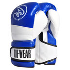 View the Tuf Wear Typhoon Training Boxing Glove Blue/White online at Fight Outlet