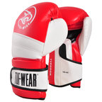 View the Tuf Wear Typhoon Training Boxing Glove Red/White online at Fight Outlet