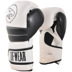View the Tuf Wear Typhoon Training Boxing Glove White/Black online at Fight Outlet