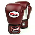 BGVLA-2 Twins Air Flow Maroon-White Boxing Gloves